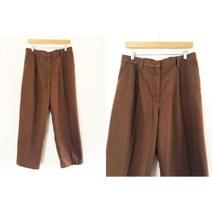 Cabin Creek | Vintage Brown High Waist Trousers